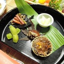 *【夕食一例】自家製野菜を使った前菜♪
