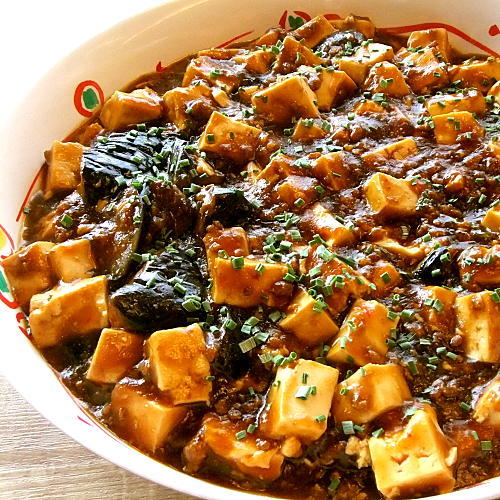 【ディナーメニュー】〜麻婆豆腐〜中華メニュー〜少しの辛みが絶妙♪