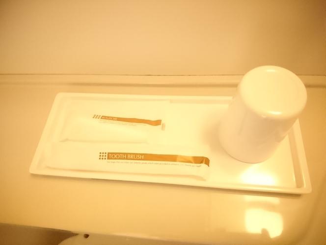 【アメニティ】・・・歯ブラシ、カミソリをご準備致しております。