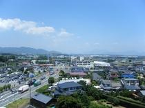 【ホテル最上階から見たら・・・】天気の良い日は見晴し良好です☆