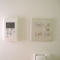 【客室設備】照明&空調