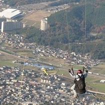 【米ノ山 ホテルより車で約45分】展望台あり、パラグライダーも楽しめます