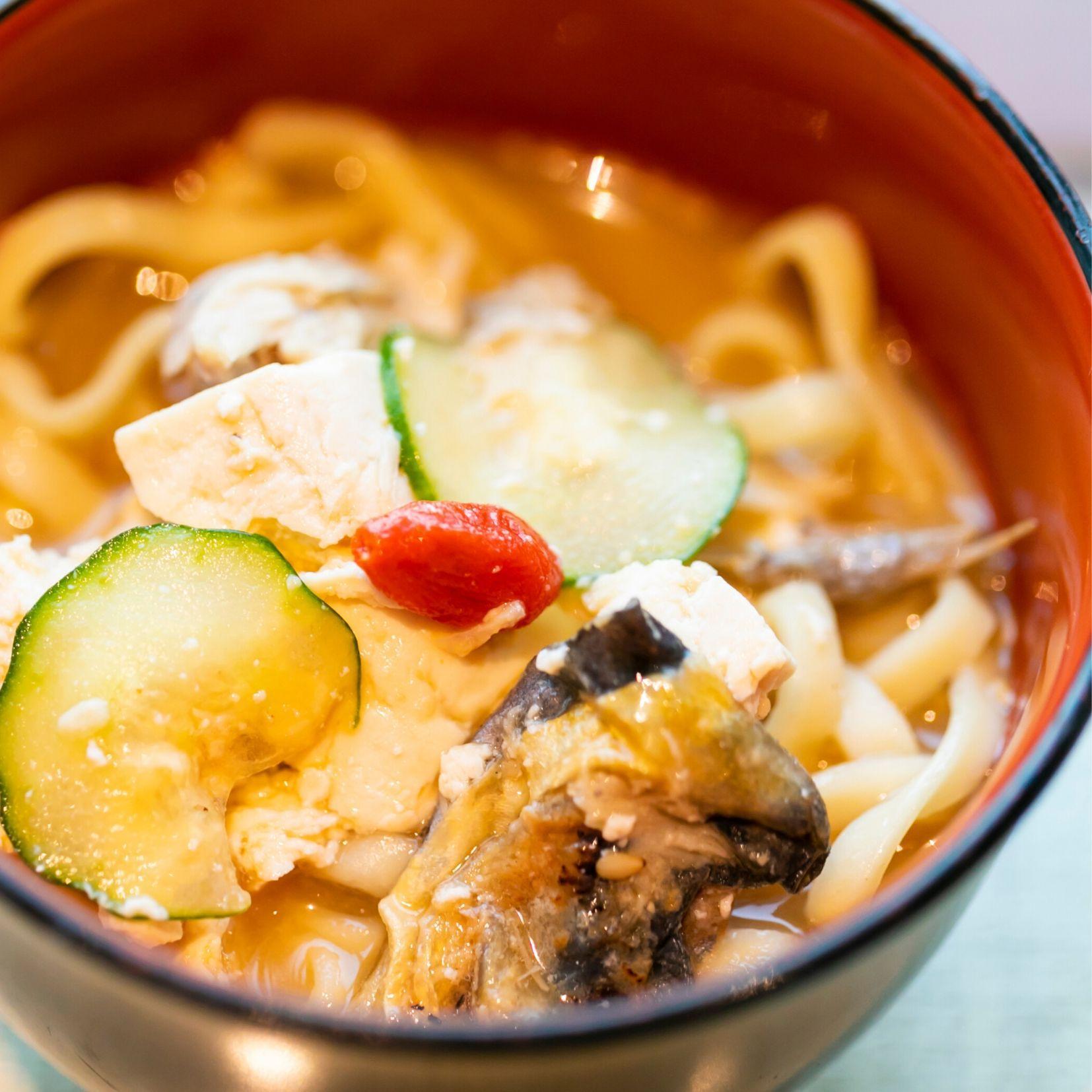 隠れた絶品「沖縄風冷やし麺」