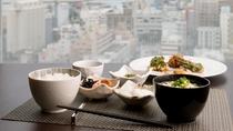 和食のご用意もございます。日本の朝食に欠かかせないアイテムも。