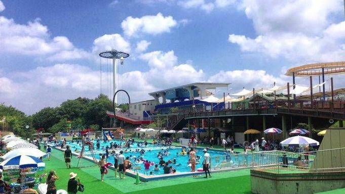 【夏のコラボ企画】関西サイクルスポーツセンター入場券+プール利用券付きプラン