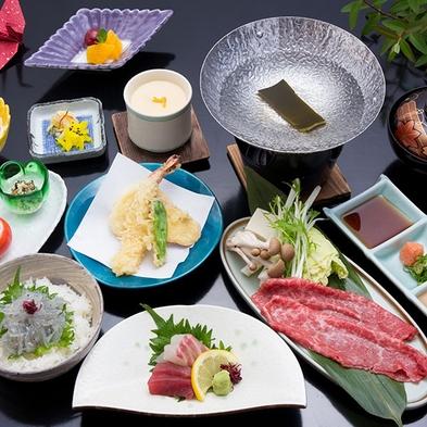 【季節のミニ海鮮丼・淡路牛しゃぶしゃぶ】淡路島の恵み盛りだくさん☆サンライズ御膳プラン