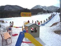 スキー場子供広場写真
