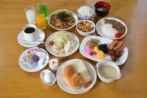 ご朝食バイキング(例)