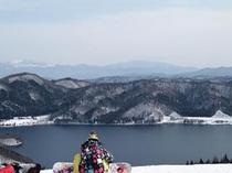 さのさかから青木湖