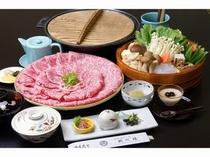 出張料理 丹波牛のすきやき【枕川楼】