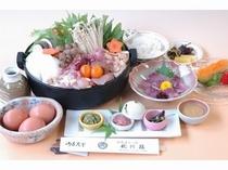 出張料理 京地鶏のすきやき【枕川楼】