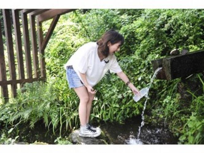 美山の名水「神田(じんでん)の水」