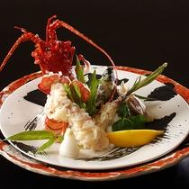 【別注料理】伊勢海老の天ぷら(画像はイメージです)