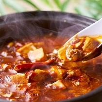 夕食-麻婆豆腐