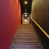 1階裏口階段