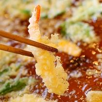 夕食-天ぷら