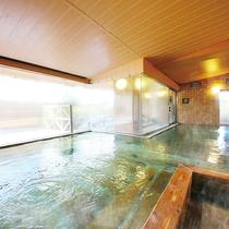 檜の湯-大浴場