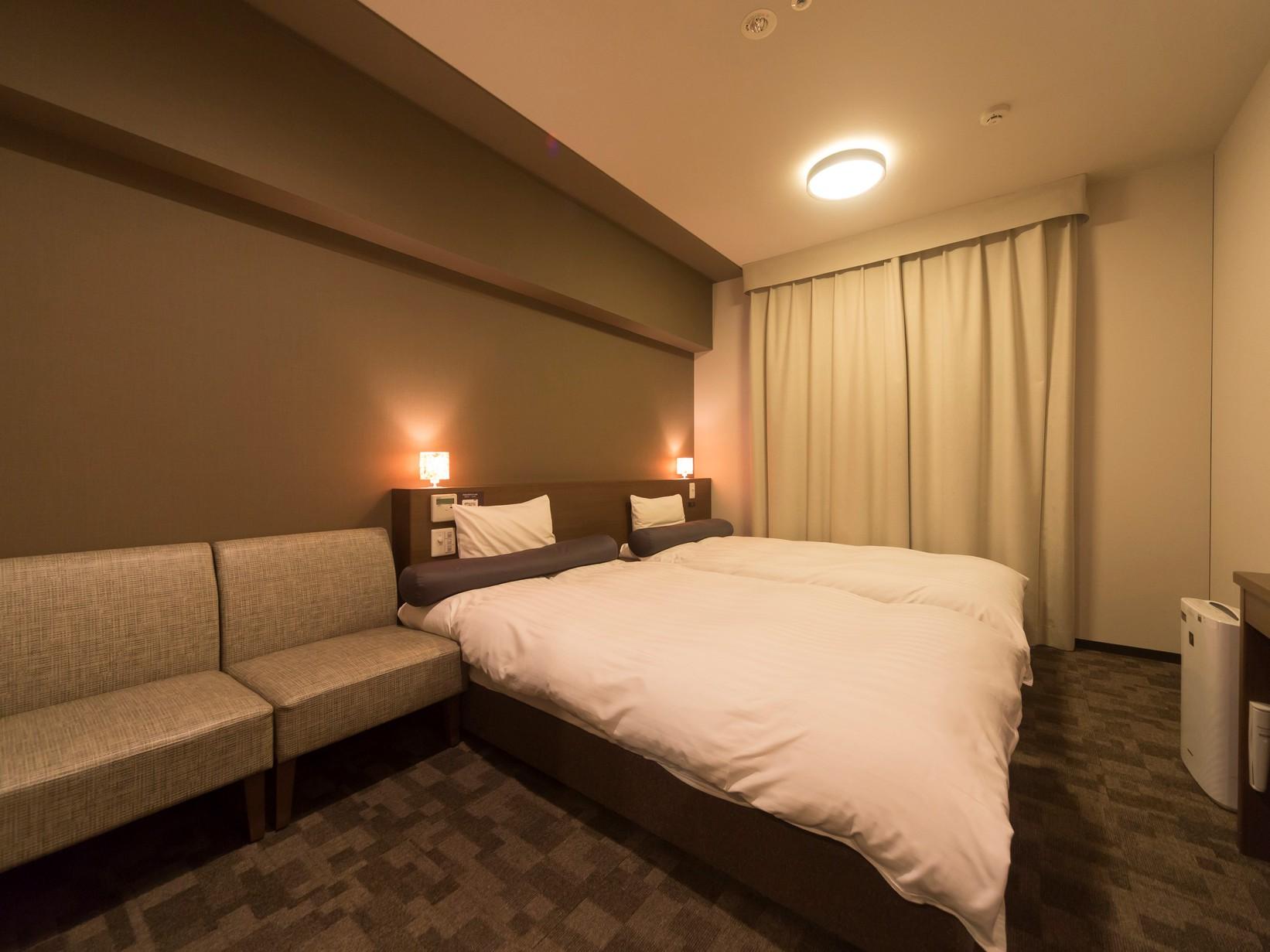 ■ハリウッドツインルーム【禁煙】22m2 ベッドサイズ100195cm