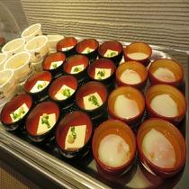 ■朝食ビュッフェ-小鉢コーナー-