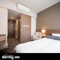 ■シングルルーム 15平米 ベッドサイズ120×195センチ