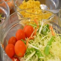 ■朝食バイキング サラダコーナー
