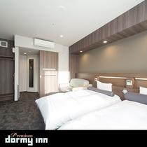 ■コネクティングルーム 25平米 ベッドサイズ100×195センチ×2