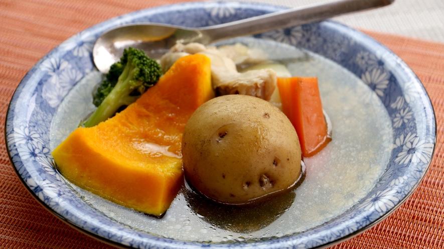 【夕食一例】女将特製!自家製野菜のポトフ