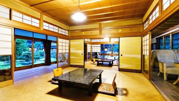 (A)迎賓室◆10畳+8畳+3方広縁+書院(86平米)