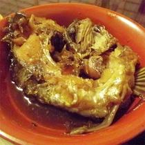 *鯉のうま煮(夕食一例)