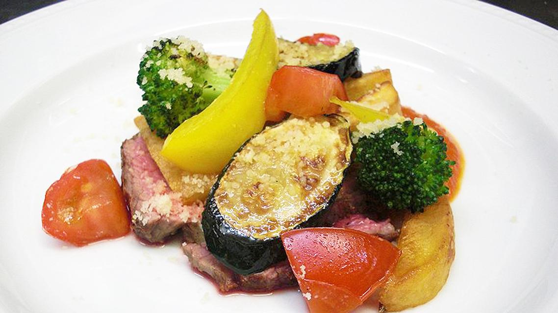 *食事一例/肉料理