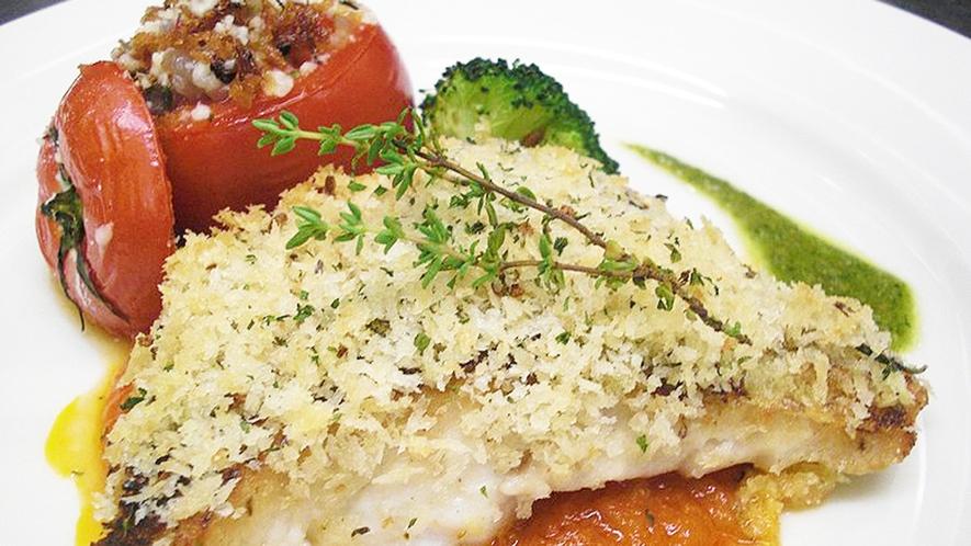 *食事一例/魚料理