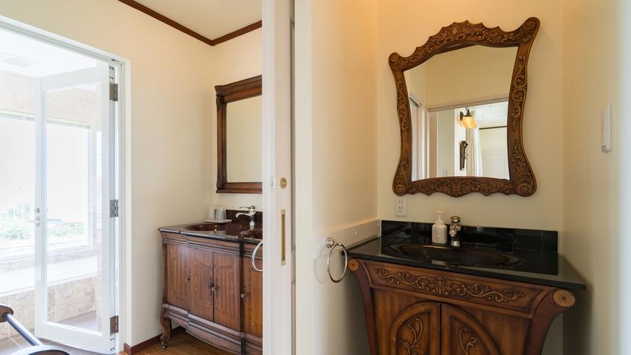 *【部屋/マルセイユ】パウダールームが2箇所あるので、朝の準備もスムーズです。