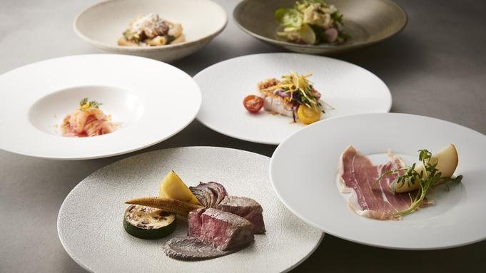【夕朝食付きプラン】イタリア料理「SCALAE」パスタ、魚&肉のメインなど全7品コース「Terra」
