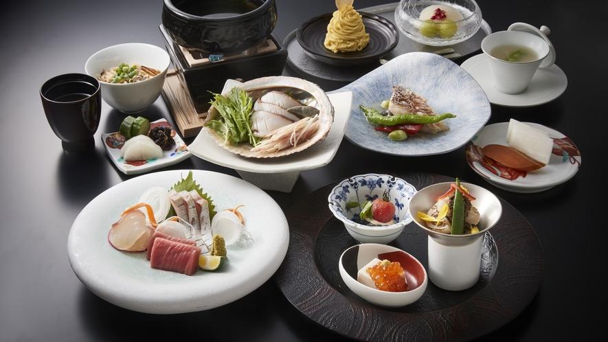 日本料理「KIZAHASHI」 コースメージ(MIZU)