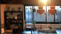 ・共用部のキッチンは自由にお使いいただけます