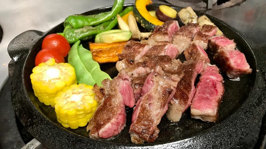 和洋選べる夕食の例(洋食)