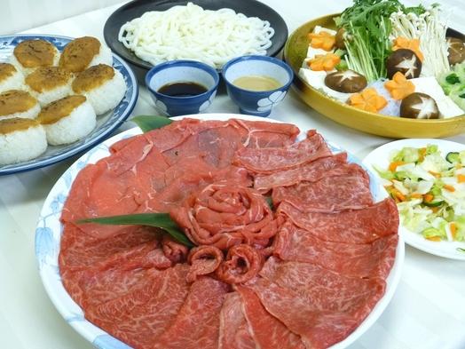 【部屋食】選べる朝食付き☆★信州牛しゃぶしゃぶセット 1泊2食付プラン