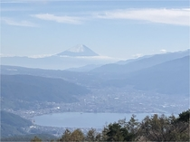 高ボッチ高原から望む富士山