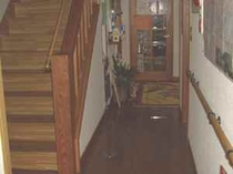 手摺りの階段