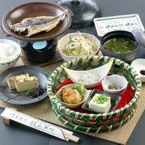 【朝食】味の干物をはじめとするザ・和朝食!