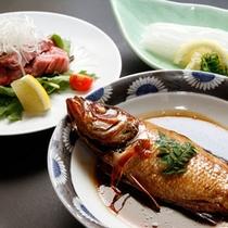 ★高級魚のどぐろの煮付けをこころゆくまでお部屋食でご賞味ください