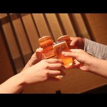 ★謝恩企画で嬉しいお部屋食でのお飲物付のプランです