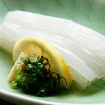 ★地場食材にこだわった烏賊(いか)素麺をご堪能下さい