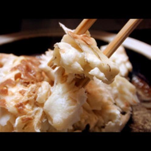 ★料理長おすすめの鯛の奉書焼きは香りも食感もご堪能できます