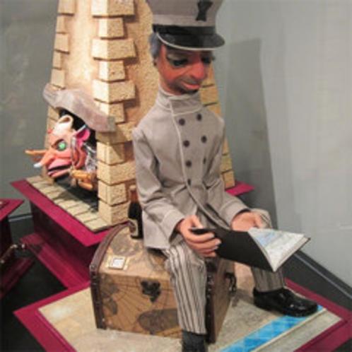 【有馬玩具博物館】当館から徒歩5分。イギリス製のからくり人形
