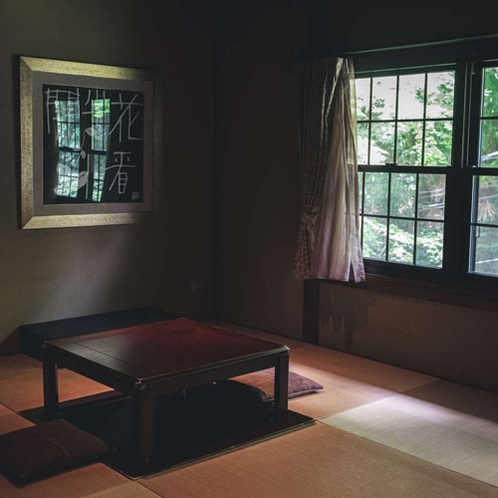 【メゾネット】ご家族でお泊まりの時は畳の上にお布団を敷くこともできます。