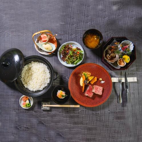 神戸ビーフ格付けの中でも希少なブランド牛「但馬玄」(たじまぐろ)に舌鼓