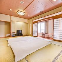 *【お部屋】広々とした和室12畳は6名様までご利用頂けます。