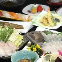 【お料理】贅沢会席☆仕入れ状況により内容はかわります。