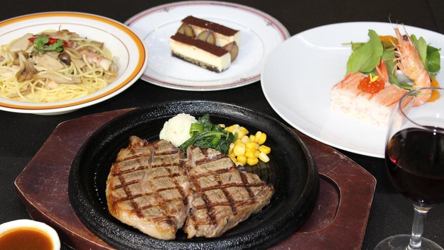 *【あか牛ステーキプラン】ヘルシーで美味しいあか牛をステーキで!